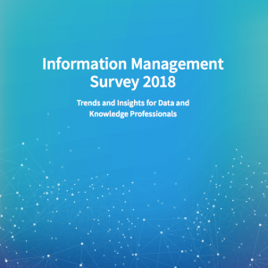 Information Management Survey 2018: Knowledge Engineering at the Core of Cognitive Applications 1