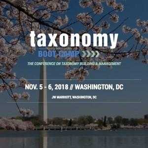 Taxonomy Boot Camp - The Conference on Taxonomy Building and Management