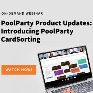 Recommended Replay: PoolParty Product Updates: Introducing PoolParty CardSorting 2